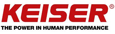 Keiser logo Anaplasis Gym Limassol