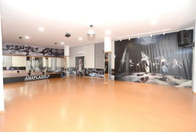 aerobics hall corner view