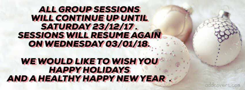 christmas 2017 group classes holidays