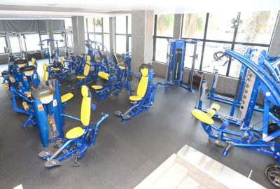 hoist gym fitness equipment upstairs view
