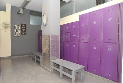 womens locker room