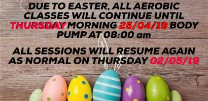 easter holidays classes 2019