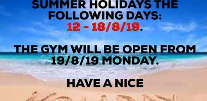 summer holidays 2019